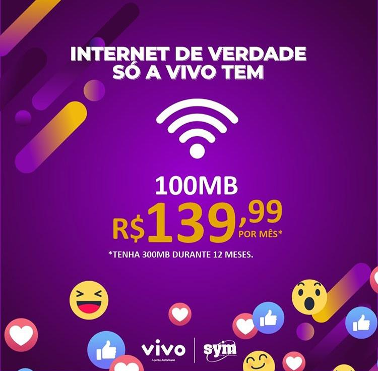 Banda Larga 100 Mbps